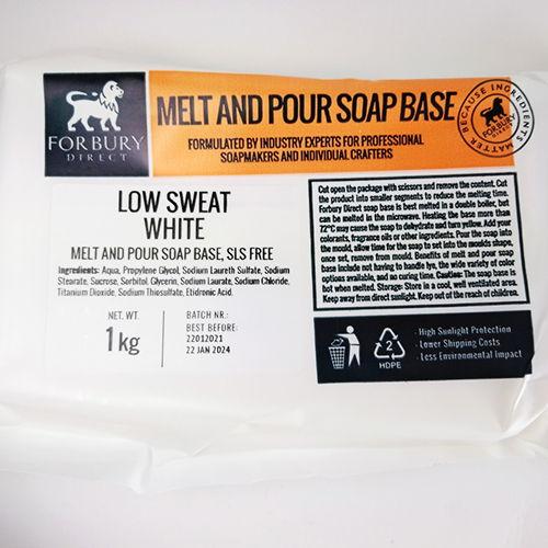 Baza mydlana Forbury LSW biała, 6kg + barwnik 100ml