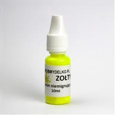 Pigment do mydła NIEMIGRUJĄCY NEON Żółty, 10ml