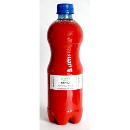 Pigment do mydeł i mydełek NIEMIGRUJĄCY Pomarańczowy, 500ml