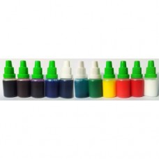 ZESTAW Pigmenty niemigrujące 10szt