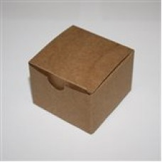 Pudełko ozdobne KK003 (kraft), 5szt.