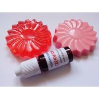 Barwnik do mydła MIGRUJĄCY Czerwony, 10ml