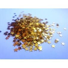 Konfetti gwiazdki złote