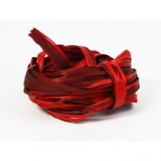 Rafia dwukolorowa 5m czerwono-bordowy